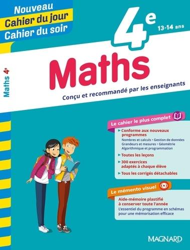 Cahier du jour/Cahier du soir Maths 4e + mémento  Edition 2019