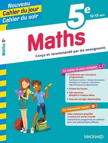 Cahier du jour/Cahier du soir Maths 5e + mémento  Edition 2019