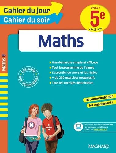 Maths 5e Cycle 4  Edition 2016