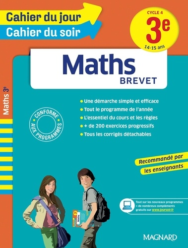 Maths Brevet 3e Cycle 4  Edition 2016