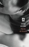 Annie Leclerc - Parole de femme.