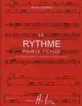 Annie Ledout - Rythme pour le 1er cycle - Rythmes parlés, frappés et mélangés.