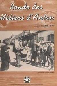 Annie Leseigneur et Jean-François Hervieu - Ronde des métiers d'Antan.