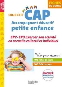 Annie Martinez et Marie-Odile Rua - CAP Accompagnant éducatif petite enfance - EP2 - EP3 Exercer son activité en accueils collectif et individuel - Fiches de cours.