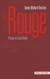 Galabria.be Le Rouge - Dictionnaire de la couleur, Mots et expressions d'aujourd'hui, XXe-XXIe Image