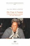 Annie-Paule Mielle de Prinsac - De l'un à l'autre - L'identité dans les romans de Toni Morrison.
