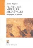 Annie Regond - Peintures murales médiévales - Images pour un message.