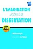 Annie Reithmann - L'imagination modèles de dissertation.