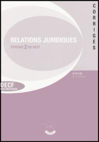 Relations juridiques de crédit, du travail et de contentieux - Epreuve 2 du DECF Corrigés.pdf