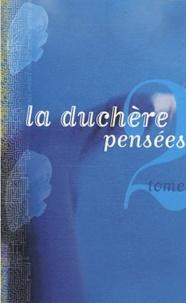 Annie Schwartz - La Duchère pensées - Tome 2.