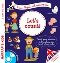 Annie Sussel et Christophe Boncens - Let's count ! - A parti de 4 ans. 1 CD audio