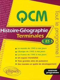 Annie Zwang et Michel Descaves - QCM Histoire-Géographie Tles L, ES, S.
