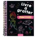 Annika Schmidt - Livre à gratter princesses - Avec un crayon de bois.