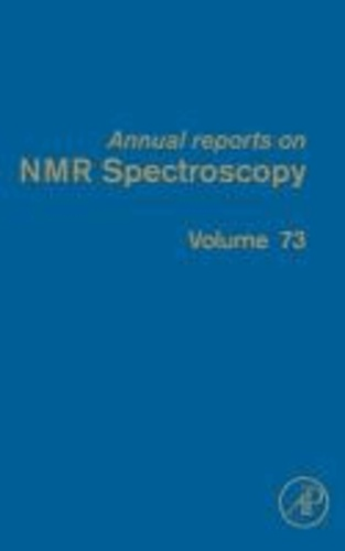 Annual Reports on NMR Spectroscopy 73.