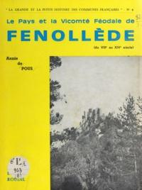 Anny de Pous - Le pays et la vicomté féodale de Fenollède - Du VIIIe au XIVe siècle.