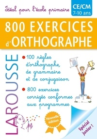 Histoiresdenlire.be 800 exercices d'orthographe Image