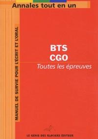 Anonyme - Annales Tout en 1 pour BTS Comptabilité et Gestion des Organisations.