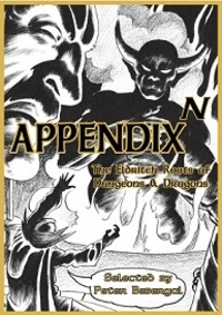 Anonyme - Appendix N - The Eldritch roots of dungeons and dragons.