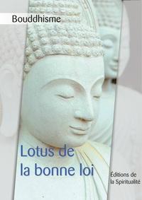 Anonyme - Bouddhisme, Lotus de la bonne loi.