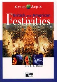 Anonyme - British and American Festivities. 1 CD audio