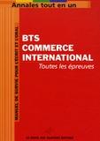 Anonyme - BTS Commerce international.