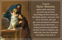 Anonyme - Carte Saint-Antoine par lot de 20.