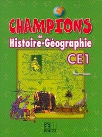 Anonyme - Champions en Histoire-Géographie CE1 - Cameroun.