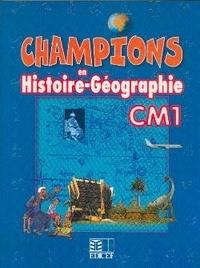 Anonyme - Champions en Histoire-Géographie CM1 - Cameroun.
