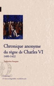Galabria.be Chronique anonyme du règne de Charles VI (1400-1422) - Tome 1, traduction française Image