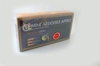 Anonyme - Coffret mini ardoises apéro.