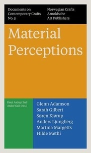 Anonyme - Documents on contemporary crafts - Tome 5 : Material perceptions.