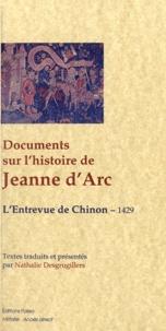 Histoiresdenlire.be Documents sur l'histoire de Jeanne d'Arc - L'entrevue de Chinon, 1429 Image