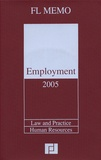 Anonyme - Employment  2005 en anglais. 1 Cédérom