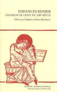 Galabria.be Enfances Renier - Chanson de geste du XIIIe siècle Image