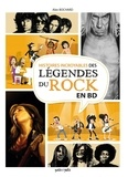 Anonyme - Histoires incroyables Légendes du rock en BD.