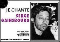 JE CHANTE SERGE GAINSBOURG -  pdf epub
