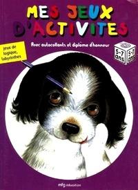 Anonyme - Jeux de logique, labyrinthes - Avec autocollants et diplôme d'honneur (5 à 7 ans).