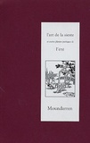 Anonyme - L'art de la sieste et autres plaisirs poétiques de l'été - Edition bilingue français-chinois.