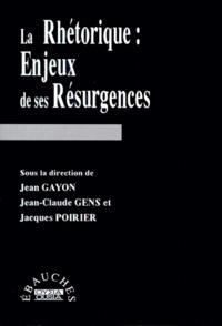Anonyme - La rhétorique - Enjeux de ses résurgences.