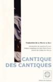 Anonyme - Le Cantique des cantiques.
