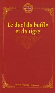 Anonyme - Le duel du buffle et du tigre.