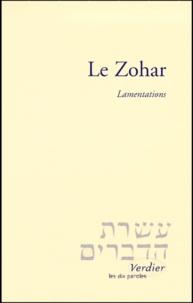 LE ZOHAR. Lamentations -  pdf epub