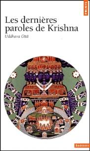 Deedr.fr Les dernières paroles de Krishna. Uddhava Gîtâ Image