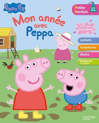 Anonyme - Mon année avec Peppa Pig PS 3/4 ans.