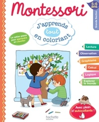 Montessori j'apprends en coloriant GS
