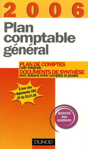 Anonyme - Plan comptable général.
