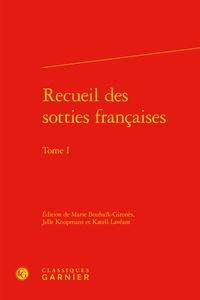 Deedr.fr Recueil des sotties françaises - Tome 1 Image