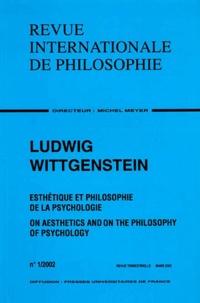 Anonyme - Revue internationale de philosophie N° 219 - 2002/1 : Ludwig Wittgenstein.