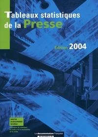 Anonyme - Tableaux statistiques de la presse - Données détaillées 2002, rétrospective 1985-2002.
