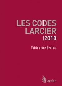 Anonyme - Tables générales - A jour au 1er mars 2018.